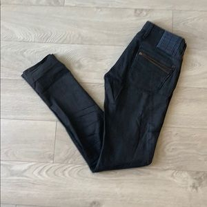 G-star ocean skinny black jeans